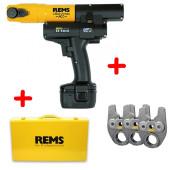 REMS Mini-Press 14,4 V ACC Li-Ion Radialpresse AKTION mit 3 Pressbacken versandkostenfrei online kaufen