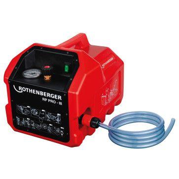Rothenberger RP Pro III elektrische Befüll- und Prüfpumpe