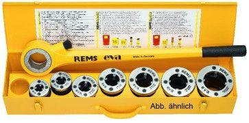 REMS Gewindeschneidkluppe eva Set M 20-25-32-40 (M x 1,5)