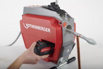 Rothenberger R600 VarioClean Akku-Rohrreinigungsmaschine  online im Shop günstig kaufen