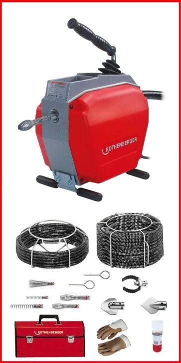 Rothenberger Rohrreinigungsmaschine R 650 Set  16+22 mm  online im Shop günstig kaufen