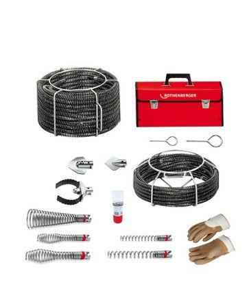 Rothenberger Spiralen- / Werkzeugset 16+22 mm