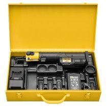 REMS Mini-Press S 22 V ACC Li-Ion Radialstabpresse im stabilen Stahlblechkasten online im Shop günstig und versandkostenfrei kaufen