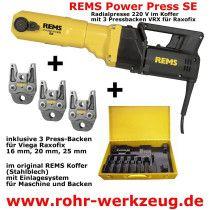 Pressmaschine für Viega Raxofix 16 20 25 mm online im Shop günstig und versandkostenfrei kaufen