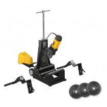 REMS DueCento Rohrtrennmaschine Basic Set inkl. 3 Schneidräder auf Fahrgestell online im Shop günstig und versandkostenfrei kaufen