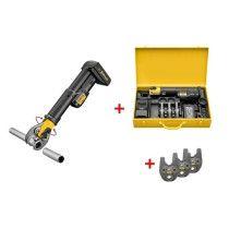 REMS Mini-Press S 22 V ACC Basic Pack Radialstabpresse AKTION mit 3 Pressbacken im Stahlblechkasten online im Shop günstig und versandkostenfrei kaufen