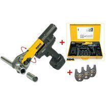 REMS Mini-Press 22 V ACC Basic Pack im Stahlblechkasten Radialpresse AKTION mit 3 Pressbacken online im Shop günstig und versandkostenfrei kaufen