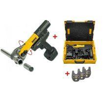 REMS Mini-Press 22 V ACC Basic Pack L-BOXX Radialpresse AKTION mit 3 Pressbacken online im Shop günstig und versandkostenfrei kaufen