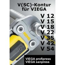 REMS Pressbacke (Presszange) V 12-54 (Viega Profipress ) online im Shop günstig und versandkostenfrei kaufen