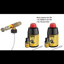 Rems Starter Set V-Jet TW  Desinfektionseinheit für Trinkwasserinstallationen + 2 Stück Peroxi Color online im Shop günstig und versandkostenfrei kaufen