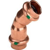 Viega-profipress-Bogen 45°, aus Kupfer, 2426 online im Shop günstig und versandkostenfrei kaufen